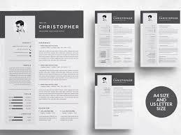 Indesign Modern Resume Template Cv Template Design Pages Modern Resume Template