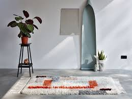 10 easy pieces color blocked rugs