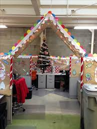 office cubicle christmas decoration. Gingerbread Cubical Decorating - 1st Place. Office CubicleCubicle Cubicle Christmas Decoration I