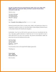 Valid Sample Application Letter Bank Branch Change Terrawalker Co