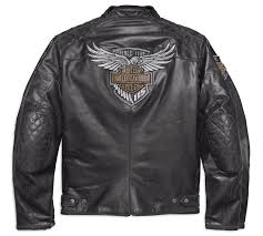 h d motorclothes harley davidson leather jacket 115th anniversary eagle ce 98006 18em