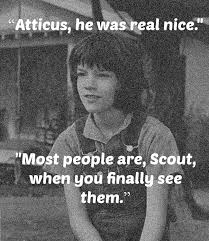 Atticus Finch Quotes With Page Numbers Adorable To Kill A Mockingbird Quotes That Describe Scout College Paper