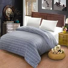 2019 100 cotton duvet cover twin full queen size gray striped grid cartoon red plaid gray quilt case red duvet covers super kingsize from tinaya