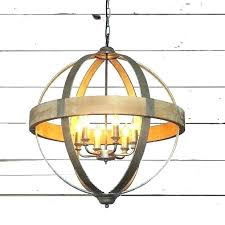 wooden globe chandelier wood and metal orb huge sphere round pendant small