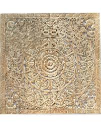 elegant wood carved wall plaque bali wood carved lotus floral wall art 48  on bali wood carving wall art with don t miss this deal on elegant wood carved wall plaque bali wood