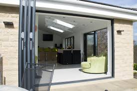 bi folding fold aluminium doors yorkshire home office decor rustic home decor affordable bi fold doors home office