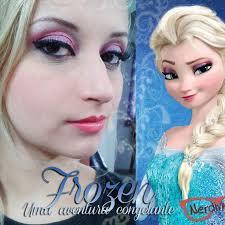 elsa frozen makeup