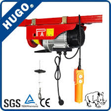 china single phase pa 200kg mini electric wire rope hoist china Motor Contactor Wiring Diagram at Hugo Pa200b Electric Hoist Wiring Diagram