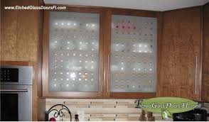 etched glass for kitchen cabinets
