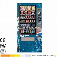 Distributor Vending Machine Indonesia Enchanting Combo Snack And Drink Vending Machine With 48 Selections Buy Snack