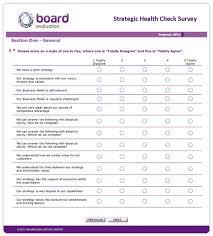 Online Strategic Health Check