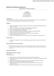 Network Architect Resume