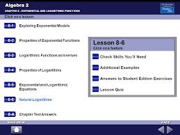 lesson 8 6 algebra 2 8 1 8 2 8 3 check