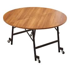 folding round table dining room hotel round table simple solid wood round table home dining table hotel folding large round table 1 5m table 1 0m tempered