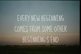 Image result for the end is the beginning is the end