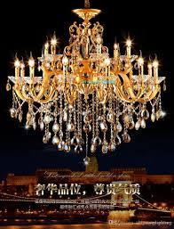 Großhandel Gold Kronleuchter Klassische Led Kristall Kronleuchter Decke Wohnzimmer Kronleuchter Beleuchtung Moderne Leuchte Kronleuchter Von