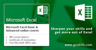 Microsoft Excel Course Online Training Updated February 2019