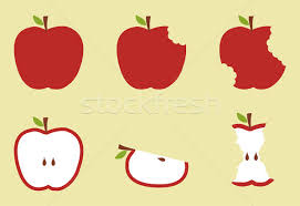 Apple Pattern Gorgeous Red Apple Pattern Illustration Vector Illustration © Cienpies Design
