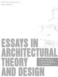 new book published essays in architectural theory and design new book published essays in architectural theory and design