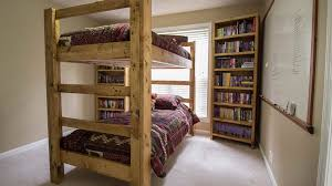 bunk bed ideas for adults. Exellent Adults A Wooden DIY Bunk Bed With Bunk Bed Ideas For Adults
