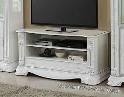 white italian furniture. Image Is Loading Prestige-Italian-White-Silver-TV-Unit-with-Crystals- White Italian Furniture W