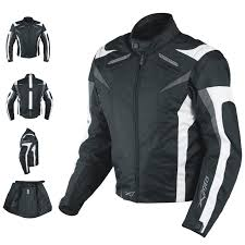 motorcycle jacket ce armored textile apparel racing thermal