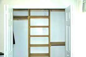 building your own closet