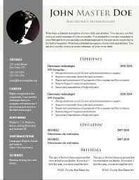 Doc Resume Template Free Cv Template 681 687 Free Cv Template Dot