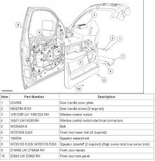 ford f 150 parts diagram door wiring