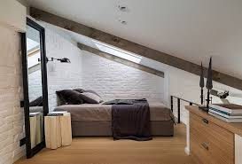 attic bedroom furniture. View In Gallery Tiny Attic Bedroom White [Design: KRAUZE Architects] Furniture