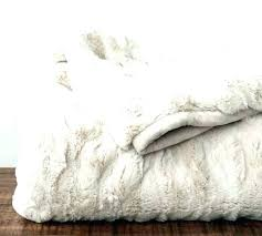 fake fur rug brown faux area ruched throw ivory rugs large white fau