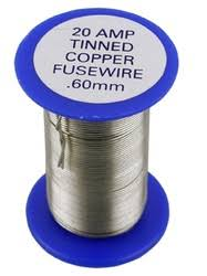 thinned copper fuse wire 05 amps to 300 amps eastern electrical fuse wire diameter at Fuse Wire