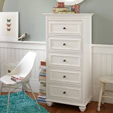 White Tall Narrow Dresser Small White Dresser I17