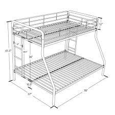 metal bunk bed twin over full. Metal Bunk Bed Twin Over Full T
