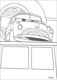 Cars Doc Hudson Coloring Page Freebies In 2019 Cars Coloring