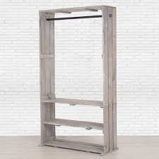 standing clothes rack. Exellent Standing Wooden Clothing Rack With Shelves Free Standing Storage Closet  Organizer Pipe And Wood Clothes Rack  Throughout H