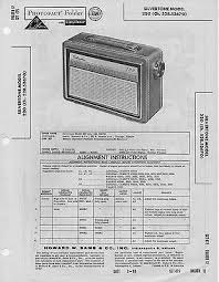 1950 silvertone 1 2 radio service manual photofact schematic 1960 silvertone 220 radio service manual photofact schematic diagram repair fix
