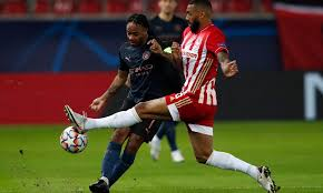 Olympiacos vs Manchester City ...