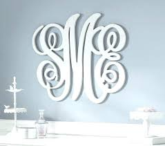 personalized monogram wall decals decal monograms letters fascinating kids room carpet