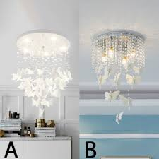 contemporary light fixtures beaded chandelier erfly flush mount crystal chandelier in white