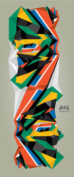 South Africa Graphic Design South African Colours South African Art African Colors