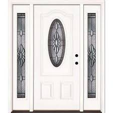 unfinished front door64 x 82  Unfinished  Front Doors  Exterior Doors  The Home Depot