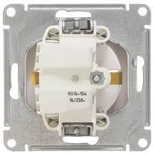 <b>Розетка</b> встраиваемая <b>Schneider Electric</b> W59 с заземлением ...