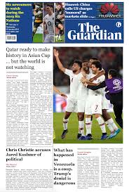 Newspaper Front Template The Guardian Newspaper Template Front Page