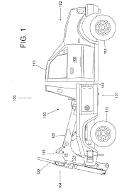 patent us20080279667 tow truck with underlift control google types of tow trucks at Tow Truck Diagram