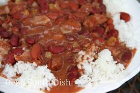 blue runner shortcut red beans and rice