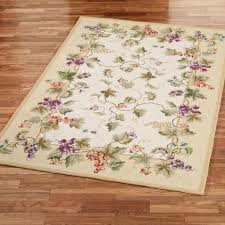 Rooster Rugs For Kitchen Kitchen Attractive Grape Kitchen Rug Design Details Placement