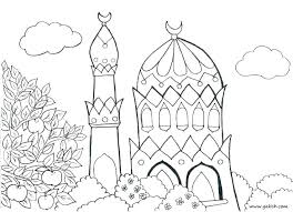 Islamic Coloring Pages Games Psubarstoolcom