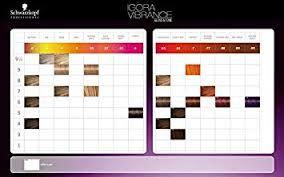 Igora Colour Chart Schwarzkopf Igora Tone Colour Chart Amazon Co Uk Health