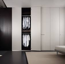 ... Custom Closet Doors Custom Sliding Closet Doors White Folding Closet  Minimalist Bedroom Interior With ...